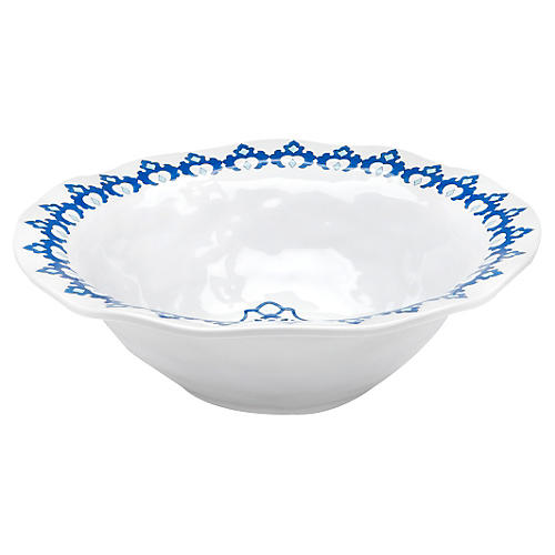 Royal Lapis Melamine Serving Bowl