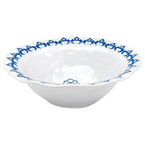 Royal Lapis Melamine Serving Bowl