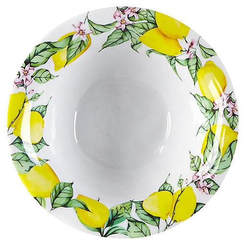 S/4 Limonata Melamine Dip Bowls, Yellow