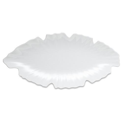 Zen Melamine Platter, White