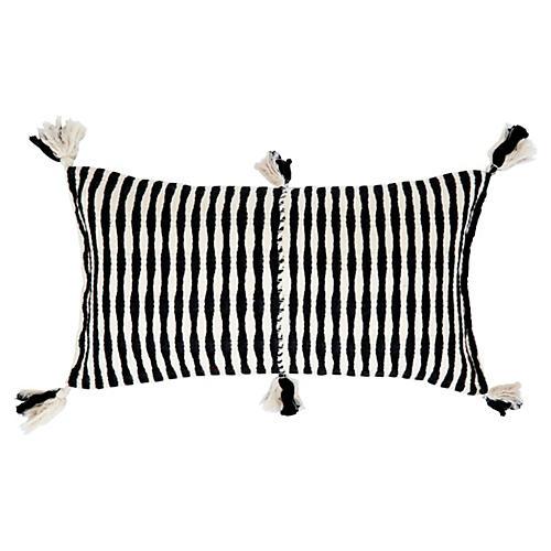 Antigua 12x20 Pillow, Black