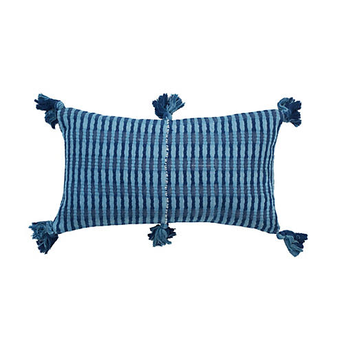 Antigua 12x20 Pillow, Navy