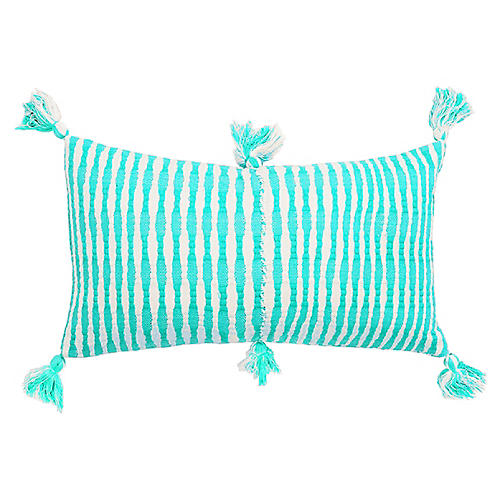 Antigua 12x20 Pillow, Aqua