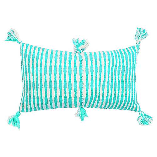 Antigua 12x20 Pillow, Aqua