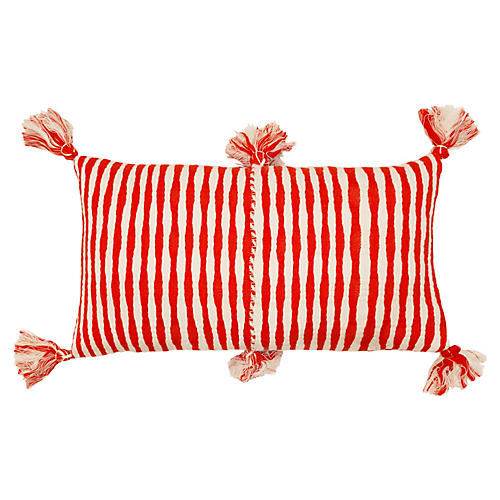 Antigua 12x20 Pillow, Red