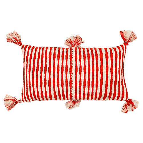 Antigua 12x20 Pillow, Red