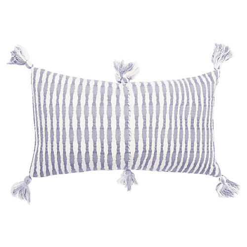 Antigua 12x20 Pillow, Cool Grey