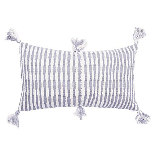Antigua 12x20 Pillow, Cool Grey