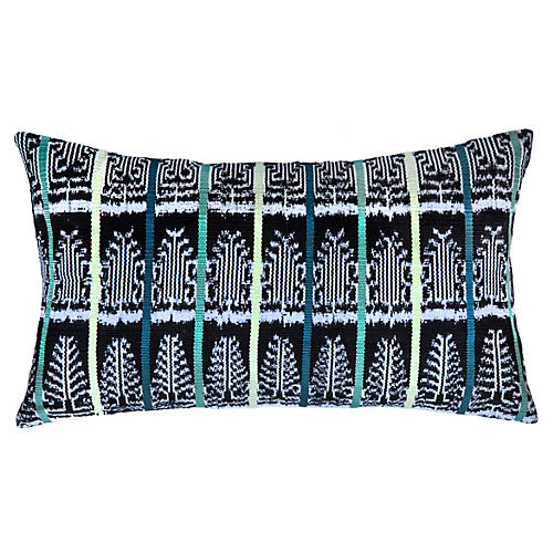 La Laguna 12x20 Pillow, Green