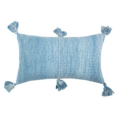 Antigua 12x20 Pillow, Ocean Blue