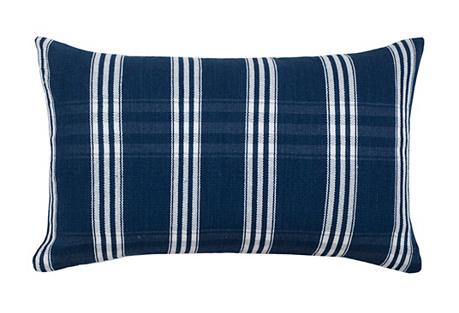 Corte 12x20 Pillow, Indigo/White