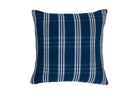 Corte 20x20 Pillow, Indigo/White