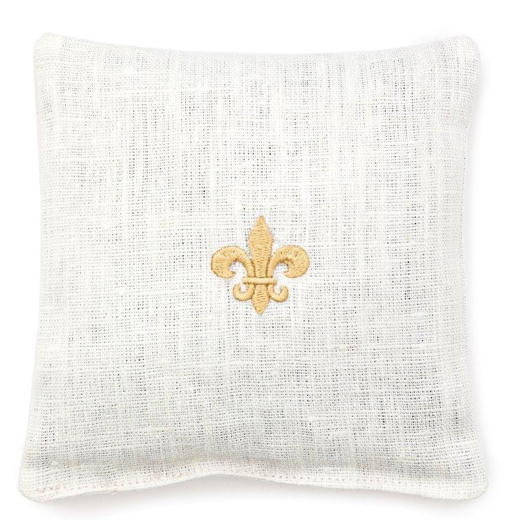 Fleur-de-Lis Sachet, Gold