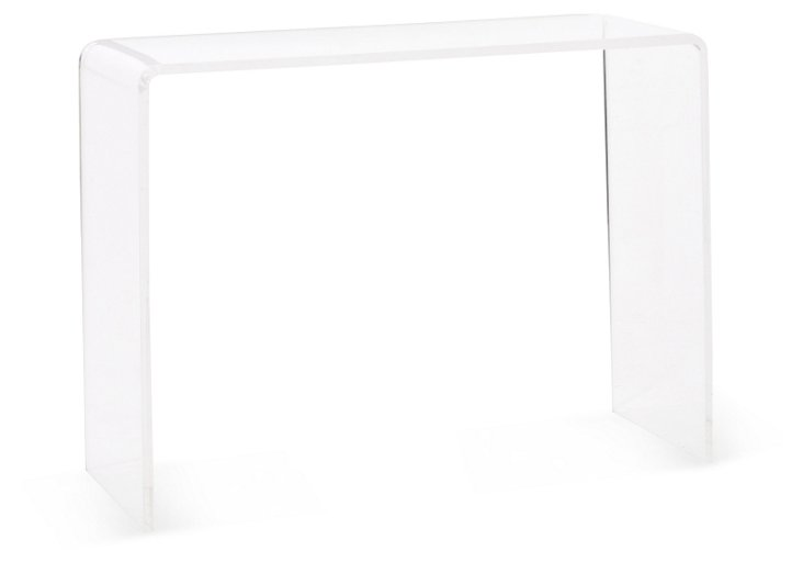 Beckham Acrylic Console Table