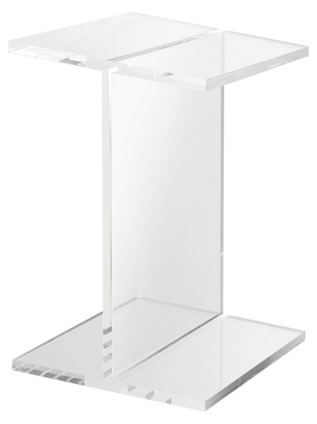 Acrylic Beam Accent Table