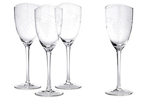 S/4 Orchard Wineglasses