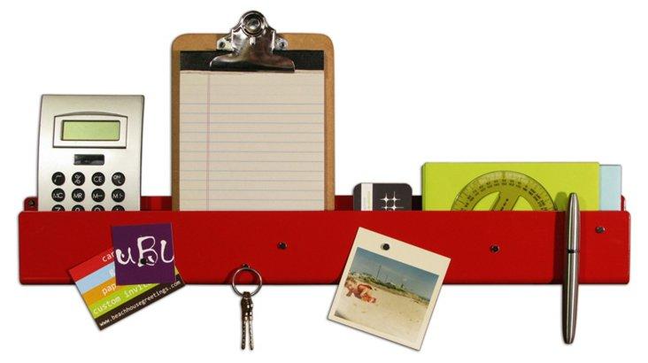 Pocket Strip Magnetic Organizer, Red