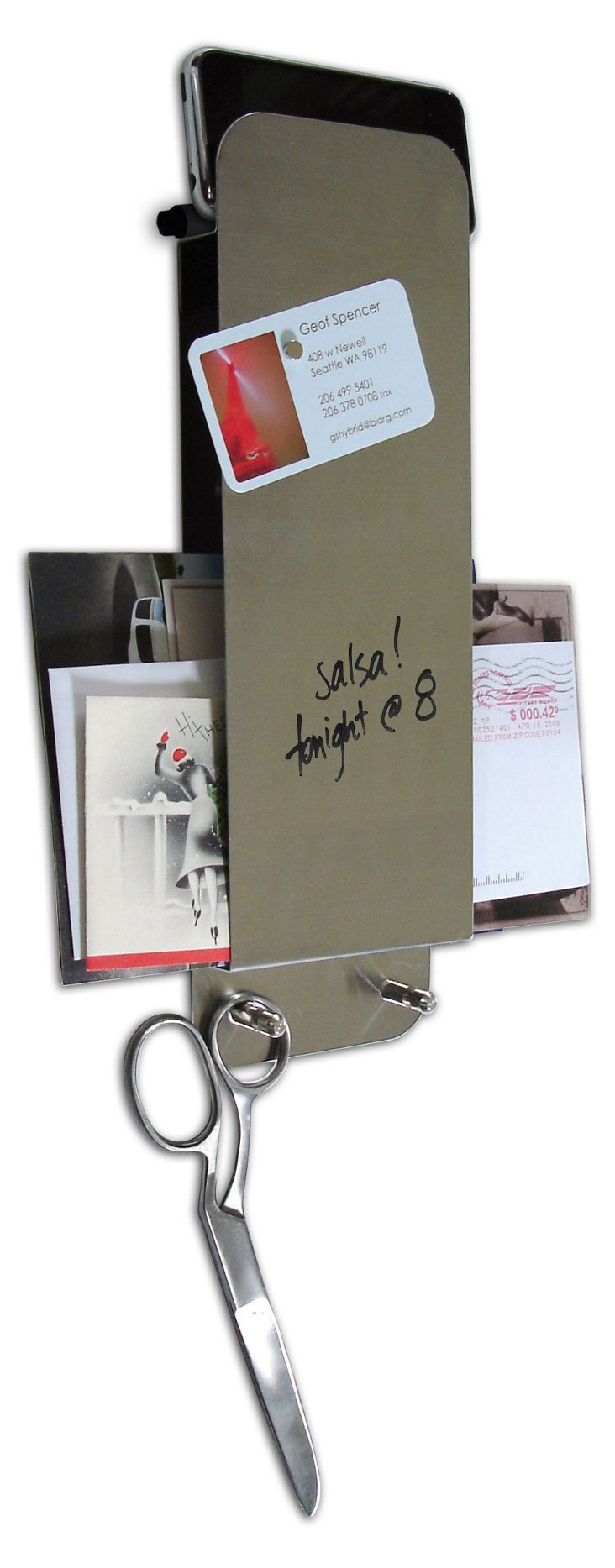 Dry-Erase Steel Entry Butlers, S/2