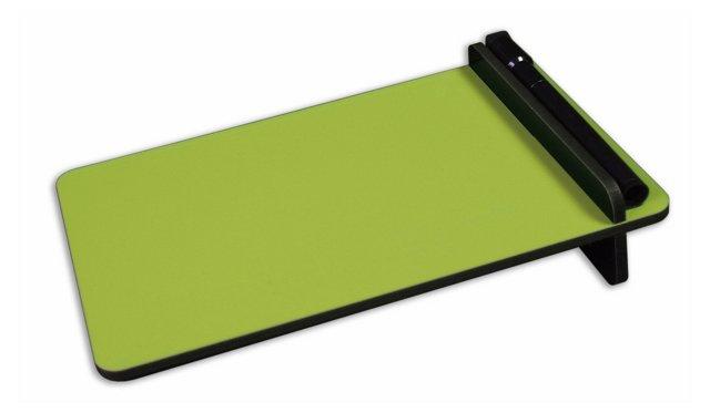 S/4 Desktop Dry-Erase Boards, Green