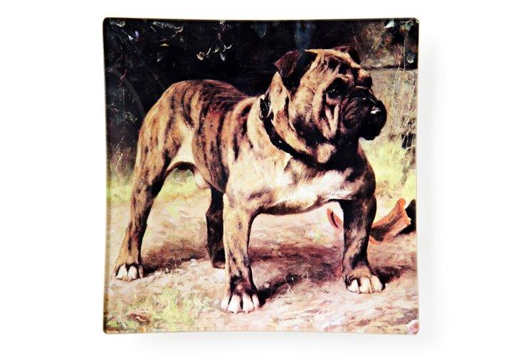 Proud Bulldog Tray