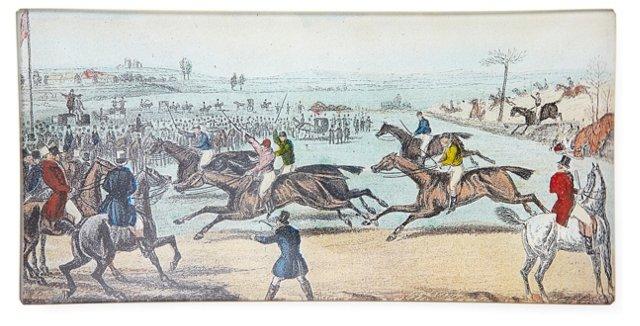Jockeys Racing Tray