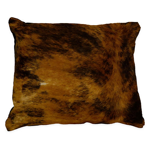 Brindle Pillow, Brown