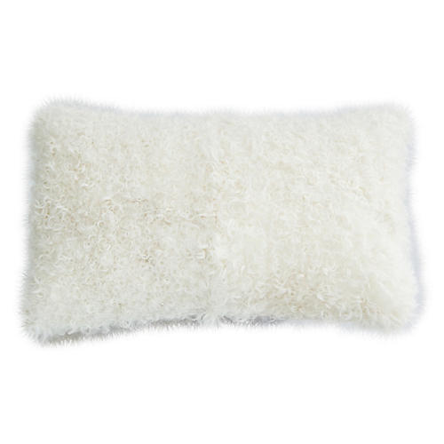 Kalgon Lumbar Pillow, White