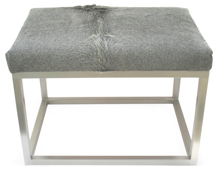 "Chris 24"" Bench, Gray"