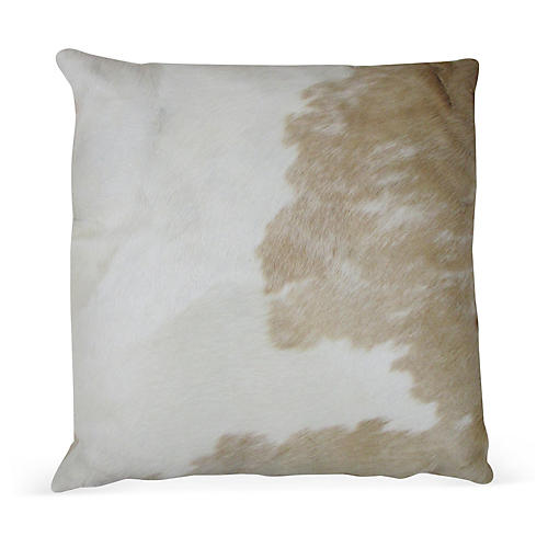 Palomino Pillow, White/Brown