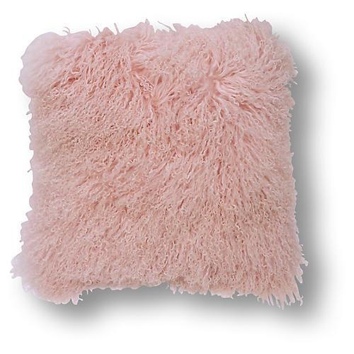 Tibetan 24x24 Pillow, Pink