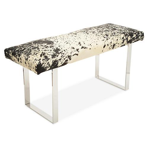 BeBe Skinny Bench, Black/White