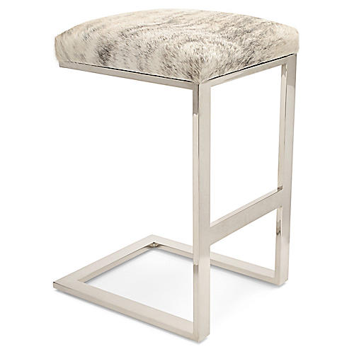 Hot Toddy Counter Stool, Light Brindle
