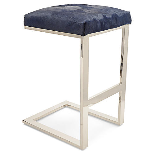 Hot Toddy Counter Stool, Navy