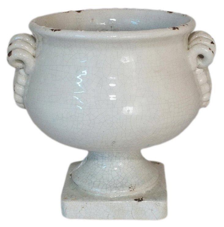 Ceramic Planter, Cream