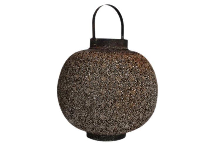 Round Metal Lantern