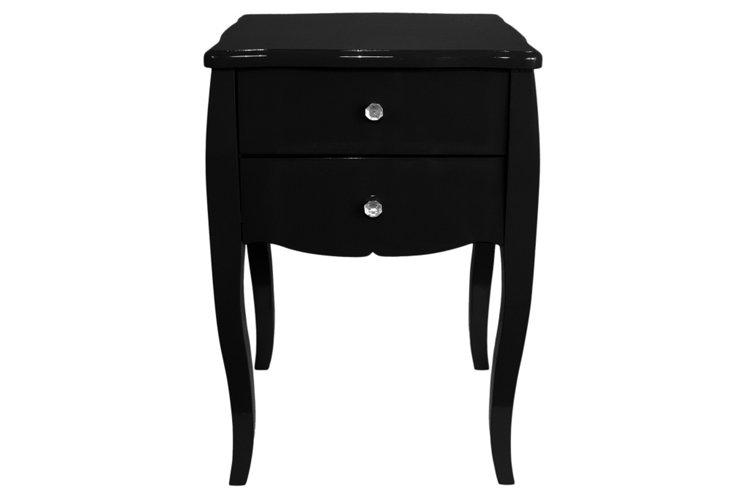 Darla Side Table, Black