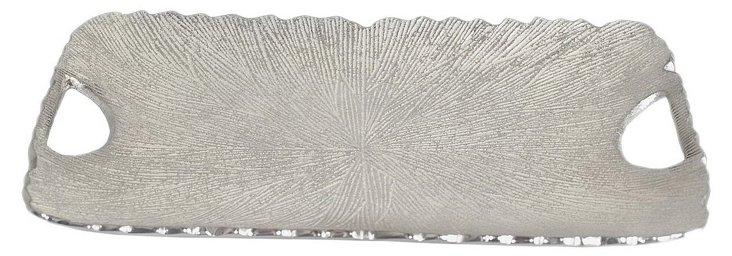 Organic Tray, Silver