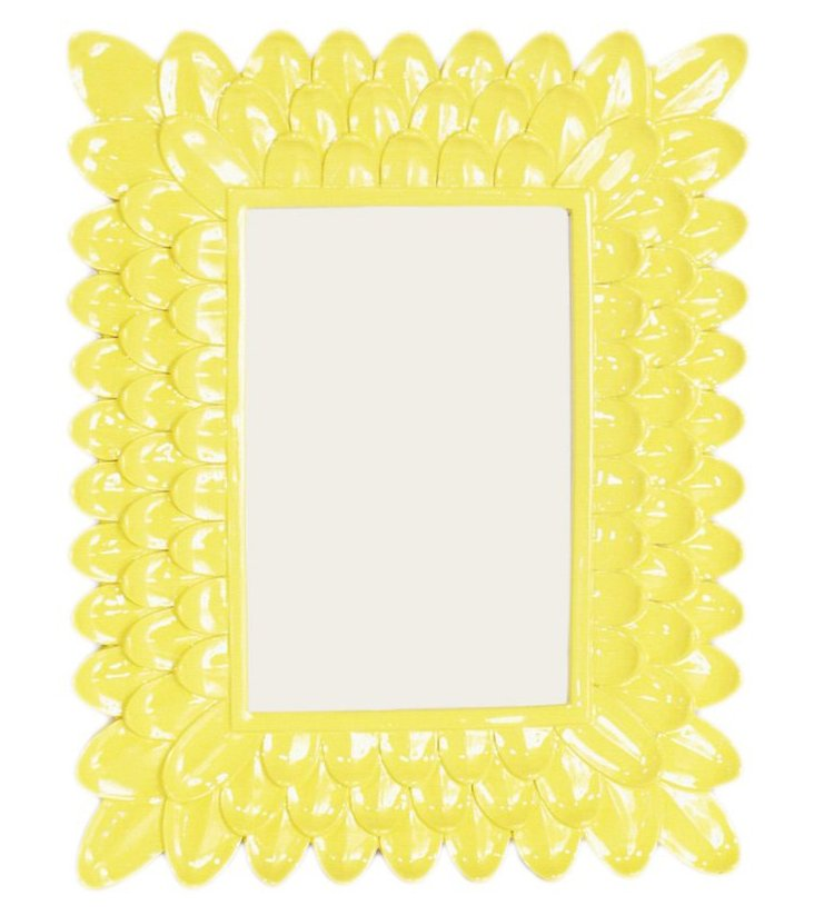 4x6 Petal Frame, Yellow