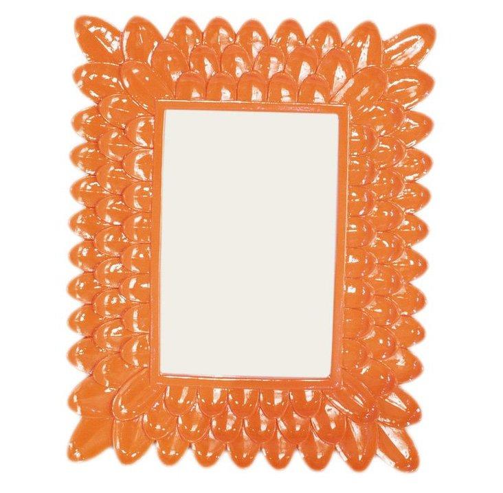 4x6 Petal Frame, Orange