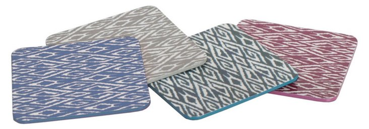 Set of 4 Geometric Coasters