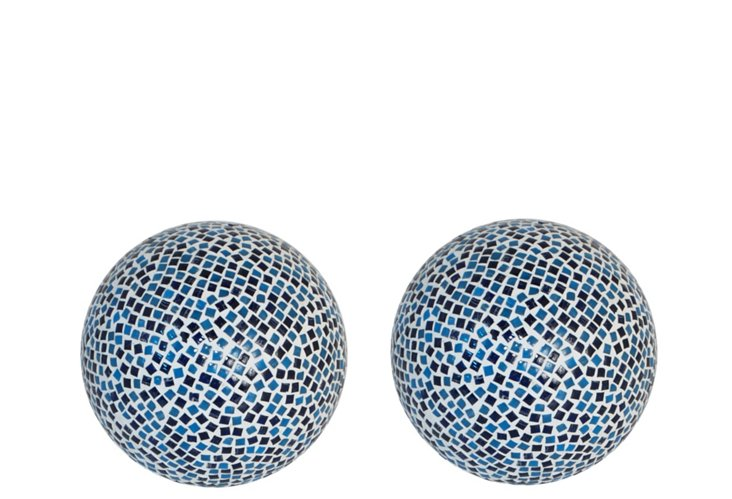 S/2 Mosaic Orbs, Small