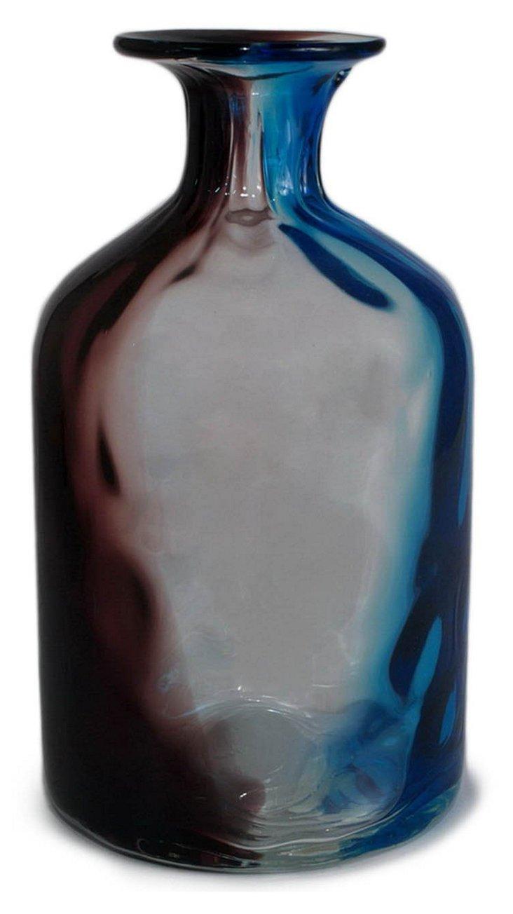 """13"""" Purple Ombré Vase"""