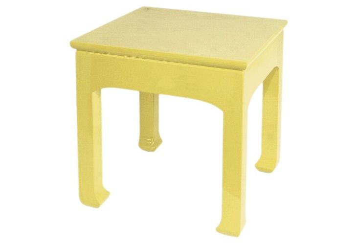 Jasper Side Table, Yellow