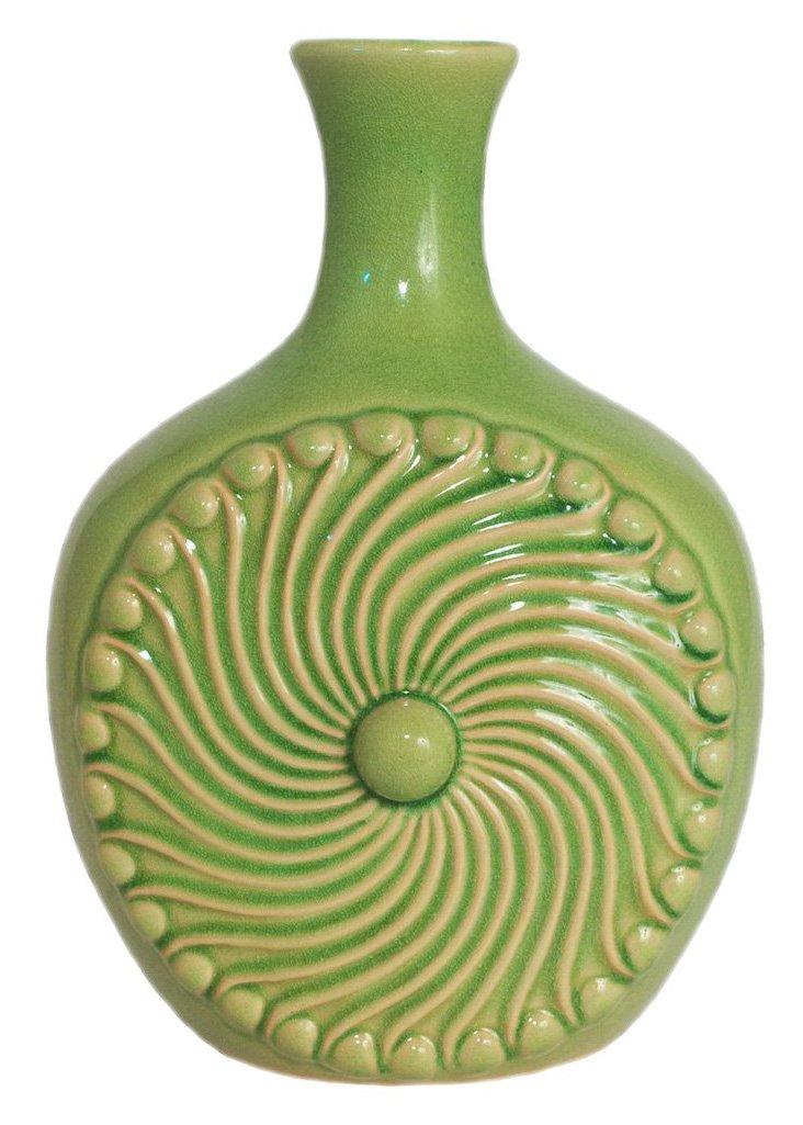Sunshine Vase, Green