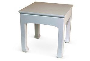 Jasper Side Table, White