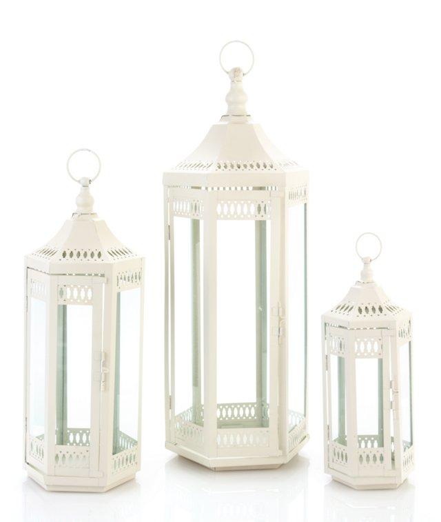 S/3 Gazebo Lanterns