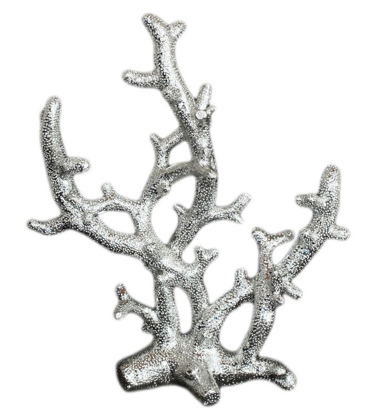 Silver Resin Coral