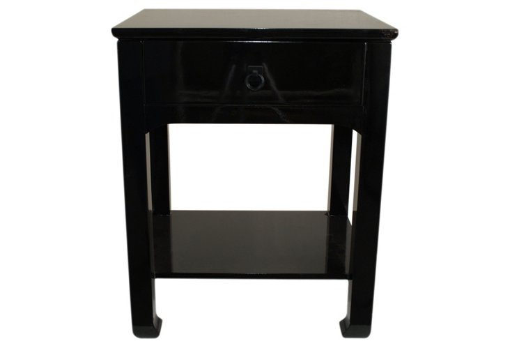 Telephone Table, Black