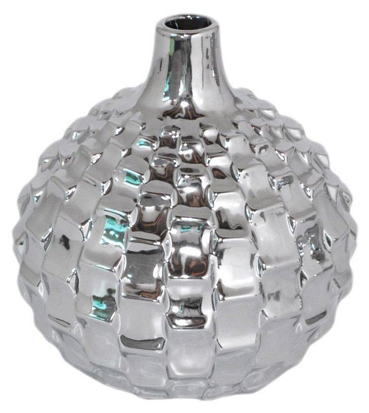 """7"""" Textured Vase"""