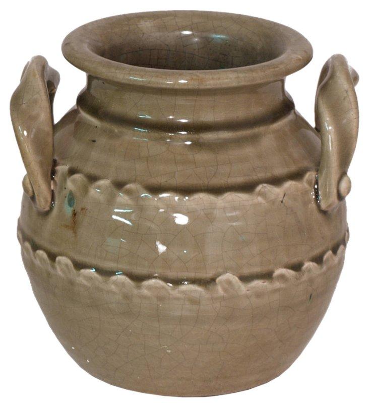 """8"""" Ceramic Planter, Clay"""